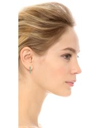 Marc By Marc Jacobs - Metallic This Way Earrings - Argento - Lyst