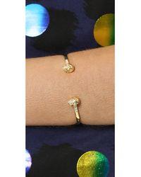 Samantha Wills | Metallic Skull Cuff Bracelet Gold | Lyst