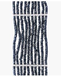 The Gem Palace - Blue Gold Bracelet With Diamonds And Sapphires - Lyst
