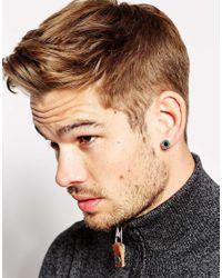 Love Bullets   Metallic Lovebullets Stud Earrings Exclusive To Asos for Men   Lyst