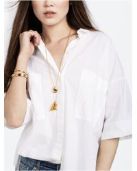 BaubleBar | Metallic Arrow Charm | Lyst
