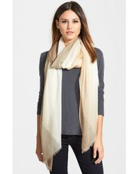 Halogen - Multicolor Ombre Cashmere Twill Wrap - Lyst