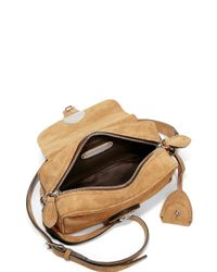 Pink Pony - Natural Ricky Small Suede Zip Crossbody Bag - Lyst