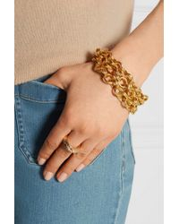 Ben-Amun - Metallic Gold-plated Bracelet - Lyst