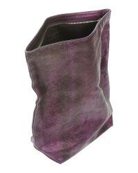 Jil Sander   Purple Handbag   Lyst
