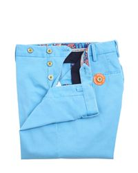PT01 | Blue 17cm Reef Faded Stretch Cotton Pants for Men | Lyst