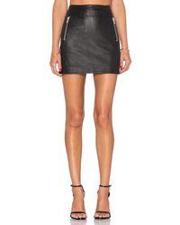 Muubaa | Black Reynolds Mini Skirt | Lyst