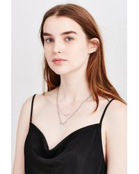 Urban Outfitters | Metallic Every Angle Layering Necklace | Lyst