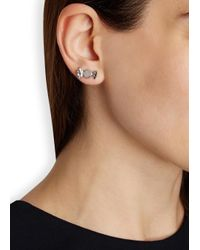 Marc By Marc Jacobs - Metallic Lost And Found Silver Tone Candy Earrings - Lyst