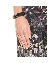 Valentino - Metallic Rockstud Leather Bracelet - Lyst
