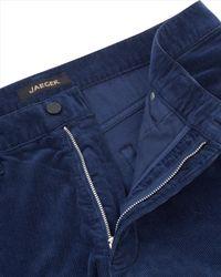 Jaeger - Blue Corduroy Trousers for Men - Lyst
