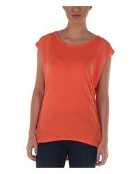 Bench | Orange Vapourz Open Back Top | Lyst