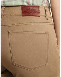 Lauren by Ralph Lauren | Brown Plus Heritage Straight Jeans | Lyst