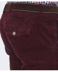 Hackett | Purple Ashby Corduroy Trousers for Men | Lyst
