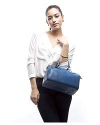 Louis Vuitton - Pre Owned Toledo Blue Epi Leather Speedy 25 Bag - Lyst