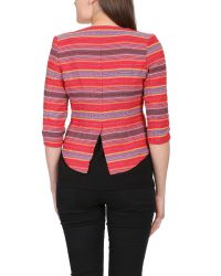 Cutie - Multicolor Tribal Print Fitted Blazer - Lyst