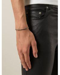 Saint Laurent   Metallic Scaled Bracelet for Men   Lyst