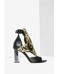 Miista | Black Rose Metallic Heel | Lyst