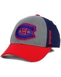Reebok - Blue Montreal Canadiens Tnt Flex Cap for Men - Lyst