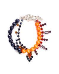 Joomi Lim | Blue Crystal Bead Bracelet | Lyst