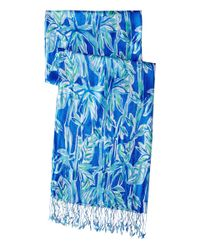 Lilly Pulitzer | Blue The Lilly Scarf | Lyst