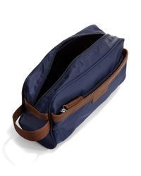 Perry Ellis | Blue Travel Kit With Faux Leather Trim for Men | Lyst