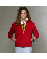 Polo Ralph Lauren | Red Landon Windbreaker for Men | Lyst