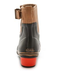 Sorel - Slimpack Riding Glow Booties - Black Bronco - Lyst