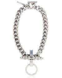 Givenchy - Metallic Embellished Chain Necklace - Lyst