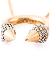 Vita Fede   Metallic 'titan' Ring Necklace   Lyst