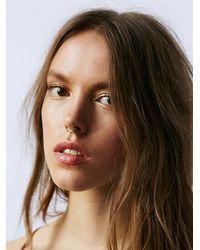 Free People - Metallic Amarilo Jewelry Womens Capulet Septum Cuff - Lyst