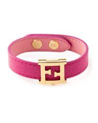 Fendi | Pink 'Crayons' Bracelet | Lyst