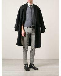 DSquared² - Gray Sleeveless Cardigan for Men - Lyst