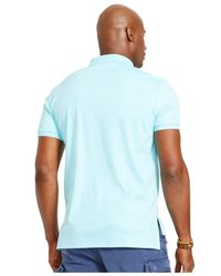 Polo Ralph Lauren | Blue Big And Tall Pima Soft-touch Polo for Men | Lyst