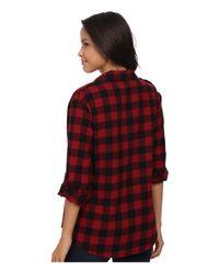 Sanctuary | Red Boyfriend Shirt | Lyst