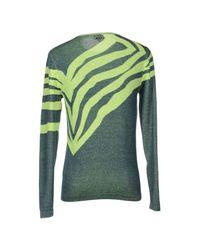 Just Cavalli - Green Jumper for Men - Lyst