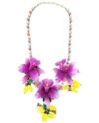 Erickson Beamon - Multicolor 'copacabana' Necklace - Lyst