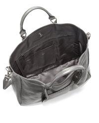 Longchamp - Gray Large Metallic 3d Tote - Lyst