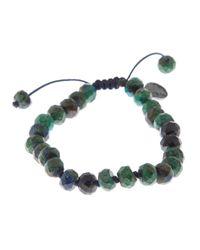 Joseph Brooks - Green Azurite And Chrysocolla Bracelet for Men - Lyst