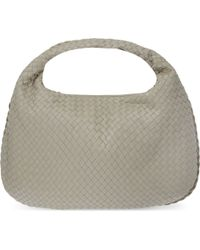 Bottega Veneta | Natural Intrecciato Leather Medium Hobo Bag | Lyst