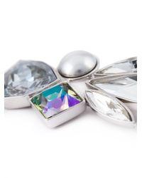 Ca&Lou | Metallic Single Crystal Drop Earring | Lyst