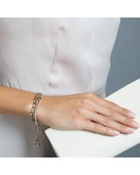 Biography   White The Lifestyle Edit Exclusive Affinity Bracelet   Lyst