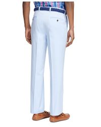 Brooks Brothers | Blue Clark Fit Oxford Chinos for Men | Lyst