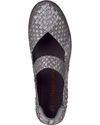 Bernie Mev - Gray Lulia Wedge Sneaker Light Grey Fabric - Lyst