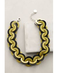 Pono | Green Barri Link Necklace | Lyst