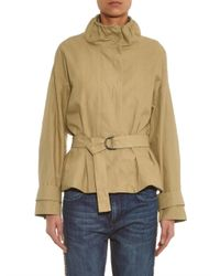 Isabel Marant - Brown Oury Belted Cotton-Blend Jacket - Lyst