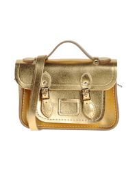 Cambridge Satchel Company | Metallic Handbag | Lyst