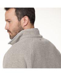 James Perse - Natural Yosemite Polar Fleece Half Zip Jacket for Men - Lyst