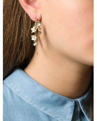 Shaun Leane | Metallic 'cherry Blossom' Topaz Earrings | Lyst