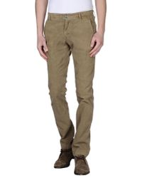 GAUDI | Natural Casual Pants for Men | Lyst